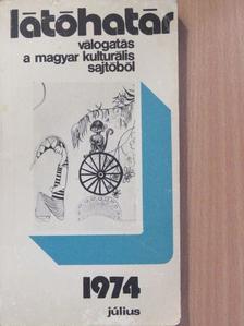 Baka István - Látóhatár 1974. július [antikvár]