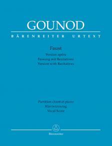 GOUNOD - FAUST. VESION OPÉRA, PARTITION CHANT ET PIANO