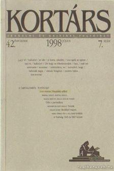 Kis Pintér Imre - Kortárs 1998/7. július [antikvár]