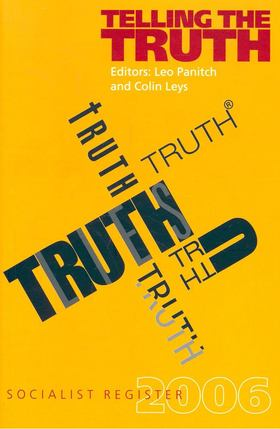 PANITCH, LEO - LEYS, COLIN - Telling the Truth [antikvár]