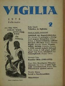 Balássy László - Vigilia 1973. február [antikvár]