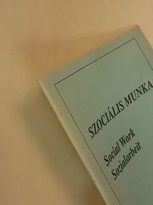 Dr. Boda Krisztina - Szociális munka 1992. április-június [antikvár]