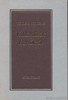 Fodor András - Vallomások Bartókról [antikvár]