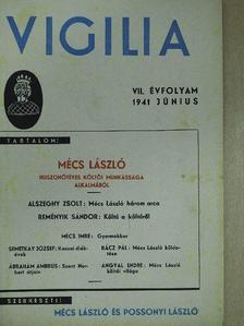 Ábrahám Ambrus - Vigilia 1941. június [antikvár]