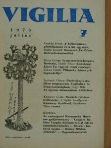 Cserháti József - Vigilia 1973. július [antikvár]