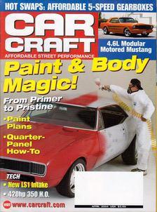 Jeff Smith - Car Craft 2004 April [antikvár]