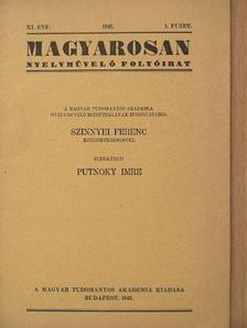 Arnóti Gabriella - Magyarosan 1942/1. [antikvár]