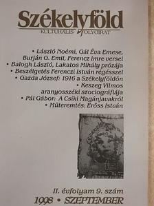 Balogh László - Székelyföld 1998. szeptember [antikvár]