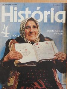 Fodor Pál - História 1994/4. [antikvár]