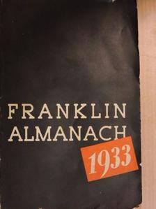 Ch. R. Gibson - Franklin Almanach 1933 [antikvár]