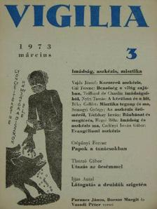 Béky Gellért - Vigilia 1973. március [antikvár]