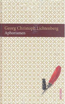 Lichtenberg, Georg Christoph - Aphorismen [antikvár]