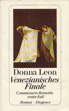 Donna Leon - Venezianisches Finale [antikvár]