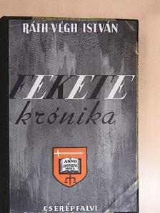 Ráth-Végh István - Fekete krónika [antikvár]