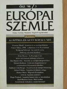 Andreas Unterberger - Európai Szemle 1998/3. Ősz [antikvár]