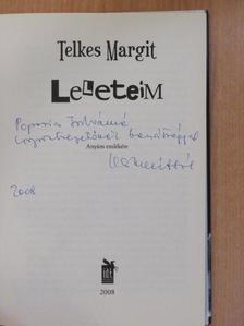 Telkes Margit - Leleteim (dedikált példány) [antikvár]