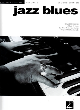 JAZZ BLUES VOLUME 2 FOR PIANO ARR. BY B.EDSTROM AND JAMES SODKE