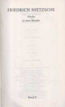 Friedrich Nietzsche - Friedrich Nietzsche II. kötet [antikvár]
