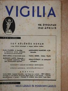 Alessandro Manzoni - Vigilia 1942. április [antikvár]