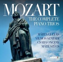 MOZART - THE COMPLETE PIANO TRIOS 3CD GULYÁS, SZABADI, ONCZAY, SZŰCS