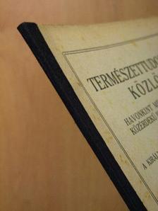 Bernátsky Jenő - Természettudományi Közlöny 1925. augusztus-szeptember [antikvár]