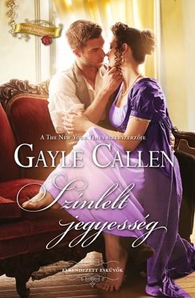 Gayle Callen - Színlelt jegyesség [eKönyv: epub, mobi]