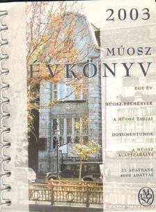 MÚOSZ évkönyv 2003 [antikvár]