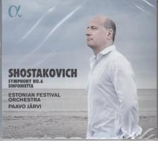 SHOSTAKOVICH - SYMPHONY NO.6,CD PAAVO JARVI