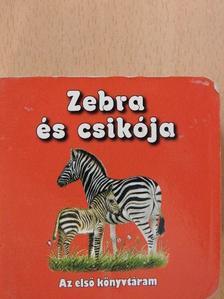 Zebra és csikója (minikönyv) [antikvár]