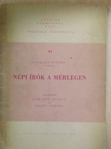 Erdei Ferenc - Népi írók a mérlegen [antikvár]