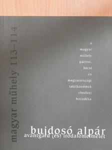 Bujdosó Alpár - Magyar Műhely 2000/2-3. [antikvár]