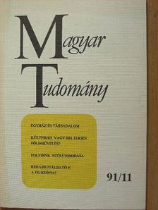 Ancsel Éva - Magyar Tudomány 1991. november [antikvár]