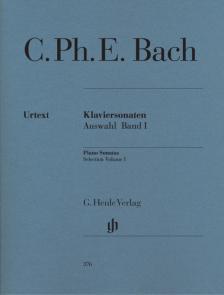BACH,C.PH.E. - KLAVIERSONATEN,AUSWAHL BD.I URTEXT (BERG-BÖRNER)
