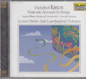 PACHELBEL; TCHAIKOVSKY - KANON; SERENADE FOR STRINGS CD
