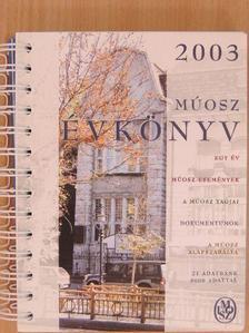Bajnai Zsolt - MÚOSZ évkönyv 2003 [antikvár]