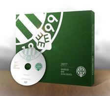 Czégány Pál, Koczó Dávid, Boldizsár Márton, Kovács Bence, Molnár Péter, Kékesi Péter - FTC Évkönyv 2017 - DVD melléklettel