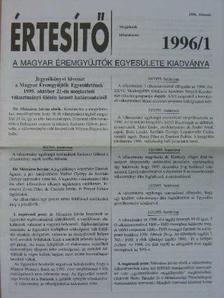 Dr. Szabó Antal - Értesítő 1996/1-2. [antikvár]