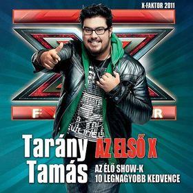 TARÁNY TAMÁS CD AZ ELSŐ X