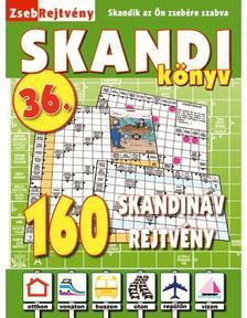 CSOSCH KIADÓ - ZsebRejtvény SKANDI Könyv 36.