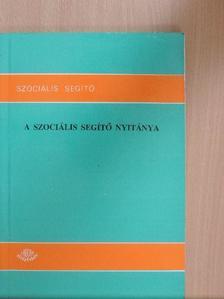 Balog Miklósné - A szociális segítő nyitánya [antikvár]