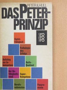 Laurence J. Peter - Das Peter-Prinzip  [antikvár]