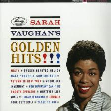 SARAH VAUGHAN - GOLDEN HITS LP SARAH VAUGHAN