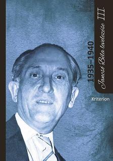 Cseke Péter (szerk.) - Jancsó Béla levelezése III. (1935-1940)