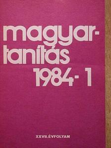 Magyartanítás 1984. (nem teljes évfolyam) [antikvár]