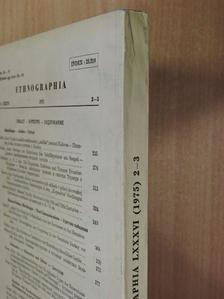 A. N. J. den Hollander - Ethnographia 1975/2-3. [antikvár]
