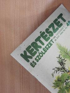 Biza Klára - Kertészet és Szőlészet 1989. december 7. [antikvár]