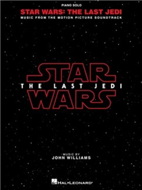 WILLIAMS JOHN - STAR WARS: THE LAST JEDI. MUSIC FROM THE MOTION PICTURE SOUNDTRACK PIANO SOLO
