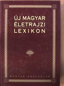 Új magyar életrajzi lexikon I. (töredék) [antikvár]