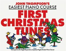 THOMPSON, JOHN - JOHN THOMPSON'S EASIEST PIANO COURSE FIRST CHRISTMAS TUNES