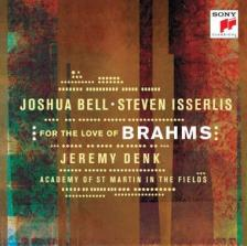 BRAHMS... - BELL & ISSERLIS FOR THE LOVE OF BRAHMS CD